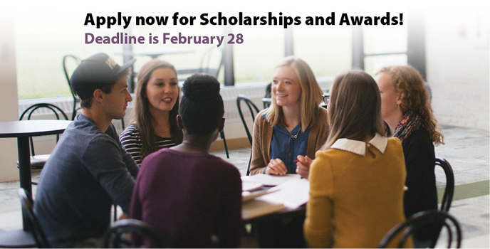 Scholarships & Awards Deadline is approaching