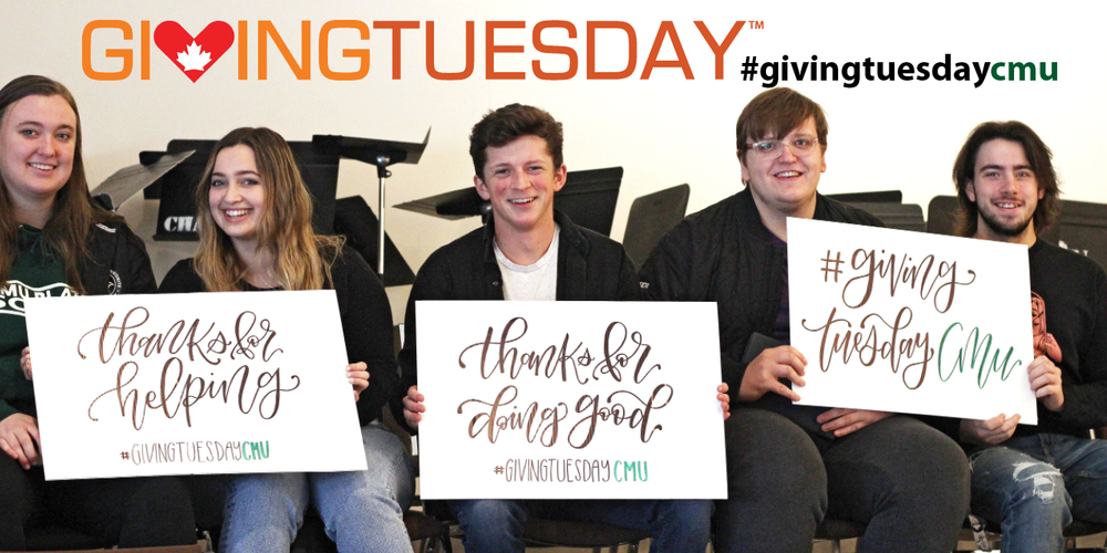 This year you contributed nearly $40,000 to CMU on Giving Tuesday