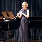 Stephanie Wilson, winner of the 2019 Verna Mae Janzen Music Competition, performs