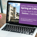 Spring at CMU 2021: a virtual fundraiser in support of CMU