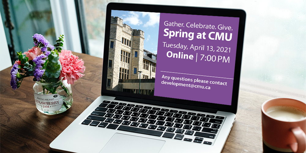 Spring at CMU 2021 | A VIRTUAL fundraiser in support of CMU