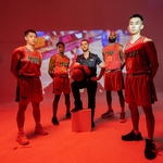 Nguyen suits up for the Saigon Heat