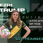 Ezri Trump: September's Zueike Female Athlete of the Month