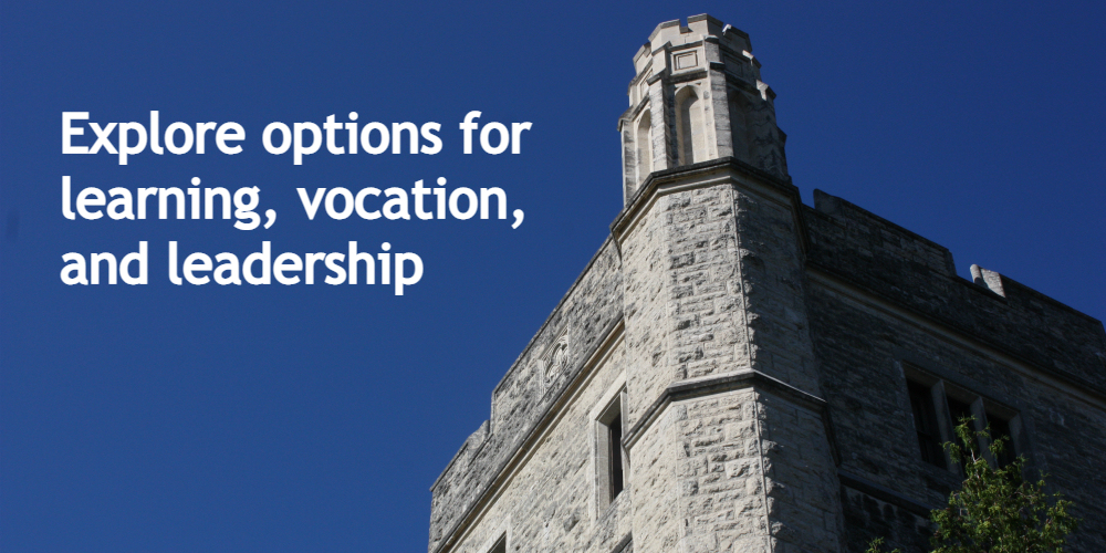 A webinar presented by the Graduate School of Theology and Ministry