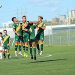 Blazers Soccer Clinch Playoff Spots