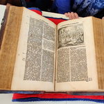 CMU's recently acquired 1685 edition of <em>Martyrs Mirror</em>