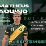 Matheus Aquino: September's Zueike Male Athlete of the Month