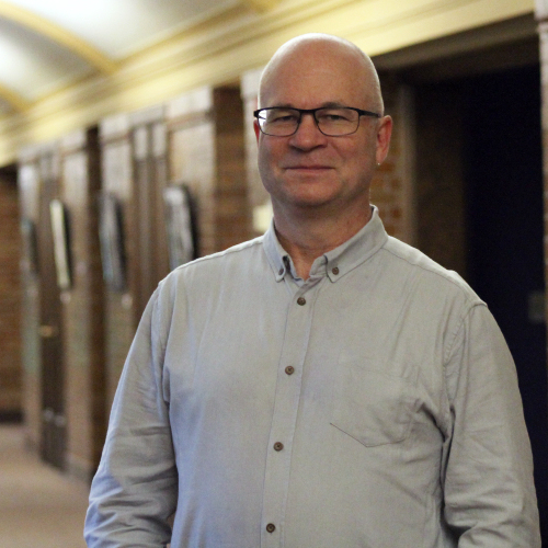 CMU's Neil Weisensel, Adjunct Professor of Music and composer of the new opera <i>Li Keur, Riel's Heart of the North</i>