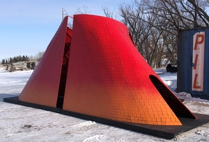 Rainbow Butterfly warming hut project honours murdered and missing Indigenous women, girls, and LGBTQ2S individuals