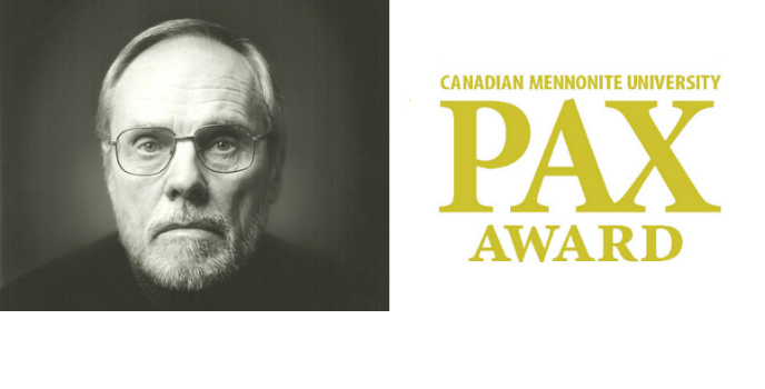 Rudy Wiebe: RECIPIENT OF THE 2019 CMU PAX AWARD