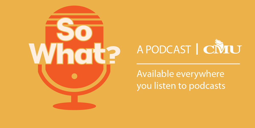 A new podcast that draws out key ideas from public events at CMU