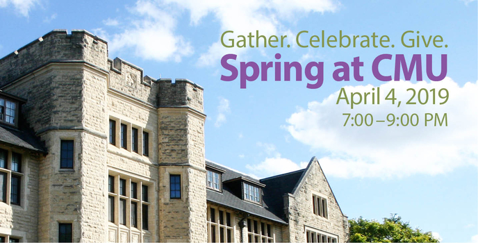 Join us for CMU's annual spring fundraiser