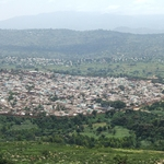 The walled city of Harar in eastern Ethiopia.