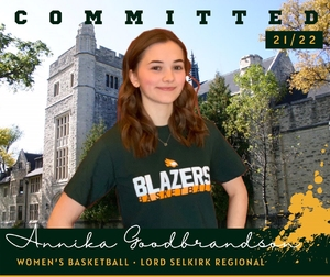 Women's Basketball Beaming Over Recent Lord Selkirk Signing