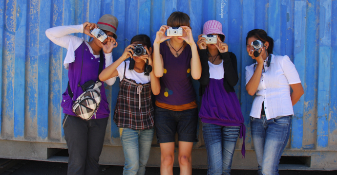 In Cambodia, Jaymie Friesen coordinated a therapeutic photography course for women exiting the sex trade.