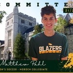 Men's Soccer Steps Into Recruitment Season By Introducing Pahl