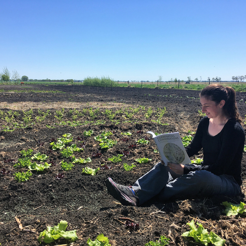 Marta Bunnett Wiebe, editor of <i>Germinating Conversations: Stories from Sustained Rural-Urban Dialogue on Food, Faith, Farming, and the Land</i>
