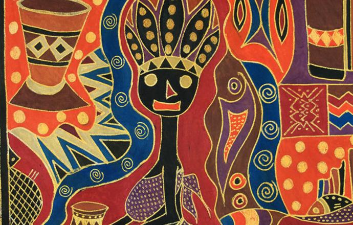 Batik 1 by Vivian Nkomo