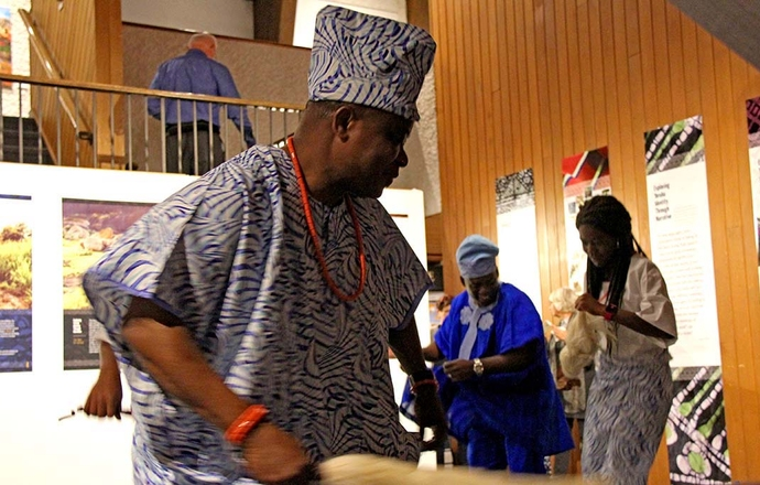 Traditional Yoruba Dance