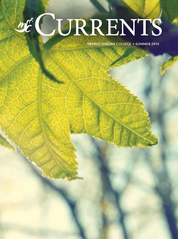 MSC Currents - Spring 2014