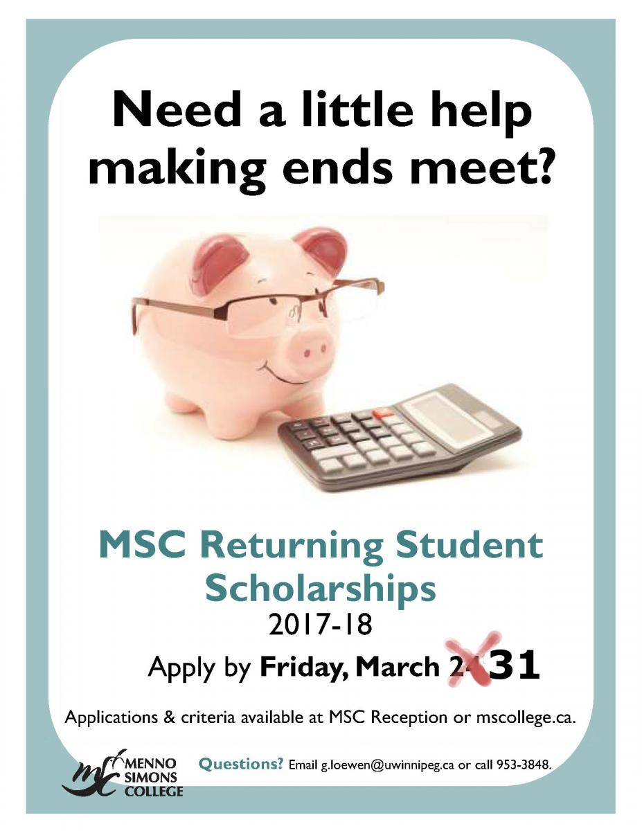 Returning Student Scholarships