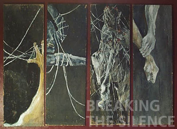12 Christine Marek, Web And Ties, Mixed media, NFS