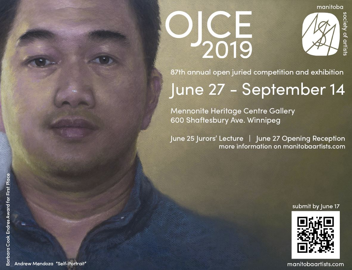OJCE 2019 87th Annual Open Juried Competition and Exhibition, June 27 - September 14