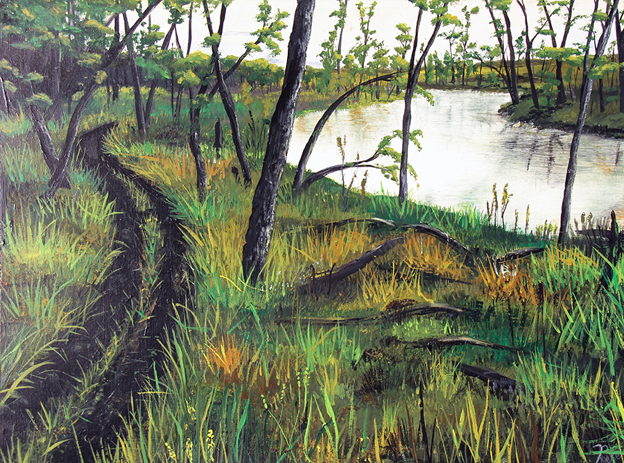 The Trail along the River, Brooke Kleinsasser
