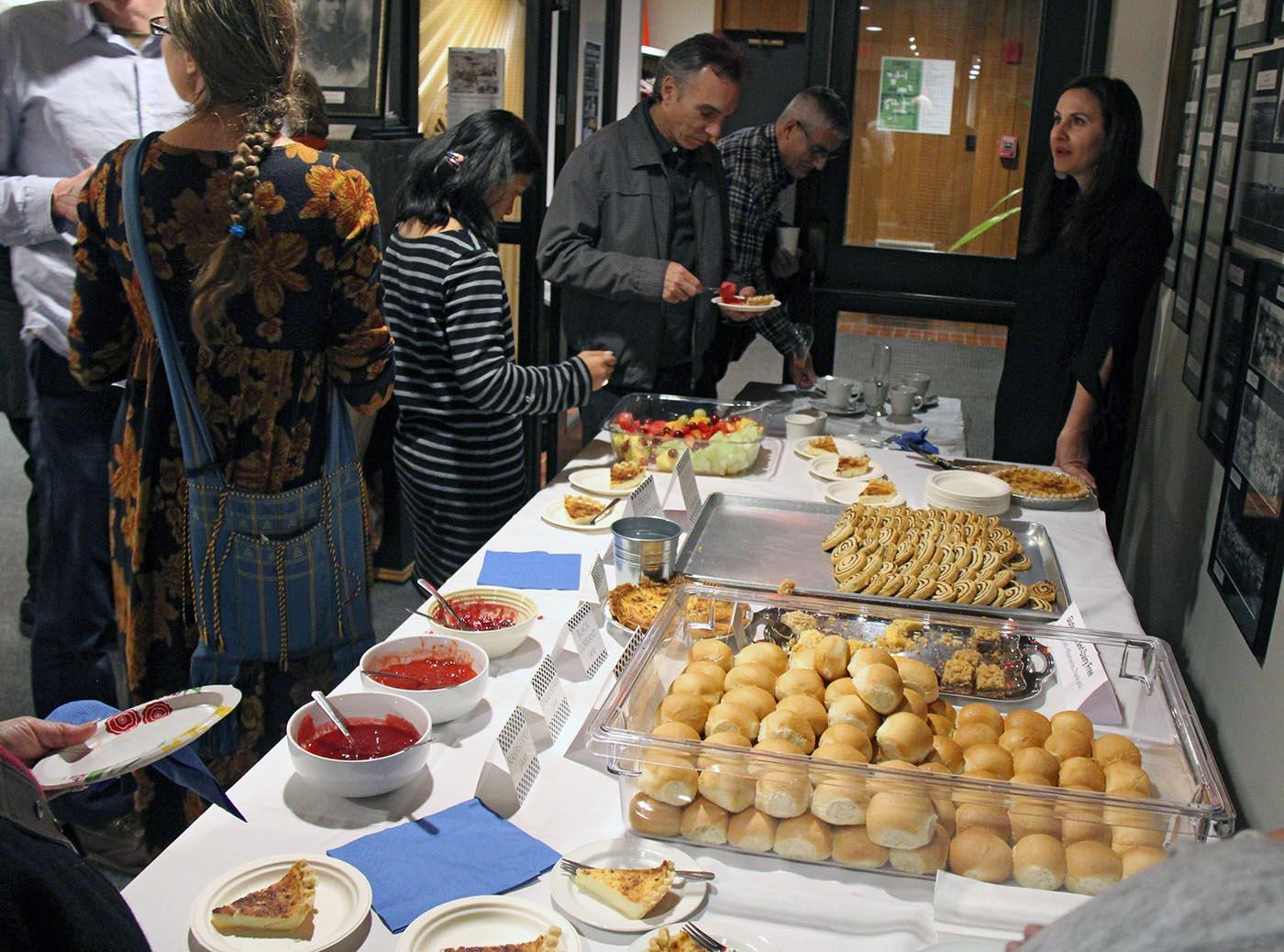 Reception food from Netley Community
