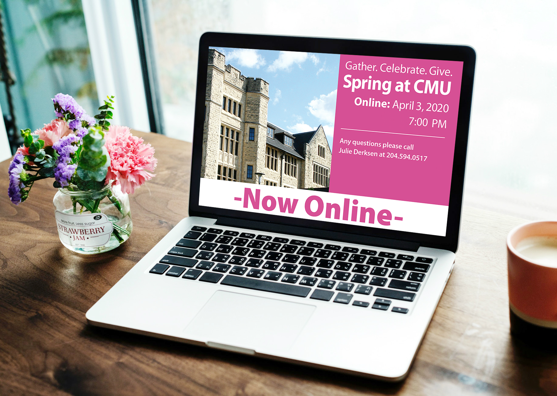 Gather. Give. Celebrate. Spring at CMU